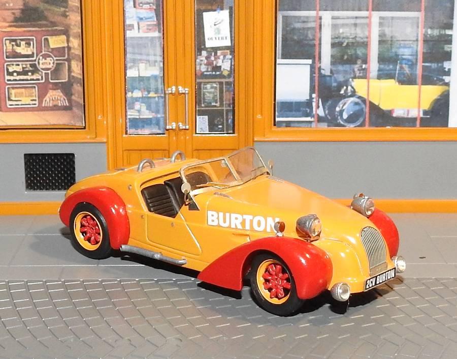 Vos commentaires à propos de la BURTON  Racing Burton