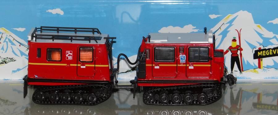 Les Plus Beaux Camions de Sapeurs-Pompiers (Hachette) Chenillette