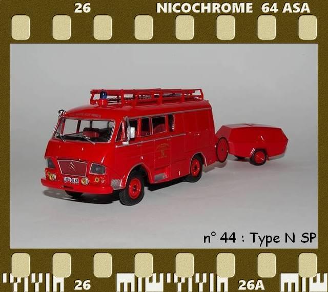 Les Plus Beaux Camions de Sapeurs-Pompiers (Hachette) P44