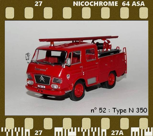 Les Plus Beaux Camions de Sapeurs-Pompiers (Hachette) P52