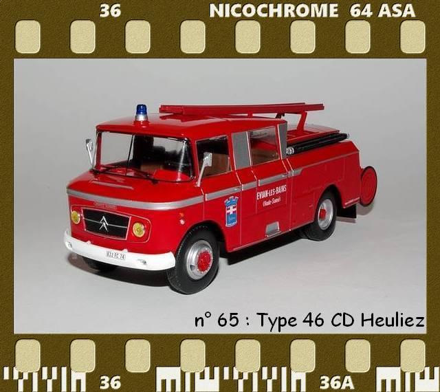 Les Plus Beaux Camions de Sapeurs-Pompiers (Hachette) P65
