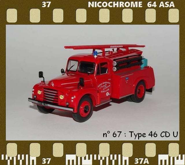 Les Plus Beaux Camions de Sapeurs-Pompiers (Hachette) P67