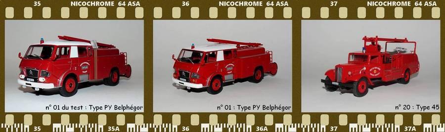 Les Plus Beaux Camions de Sapeurs-Pompiers (Hachette) PC1