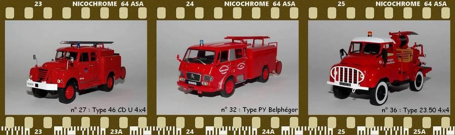 Les Plus Beaux Camions de Sapeurs-Pompiers (Hachette) PC2