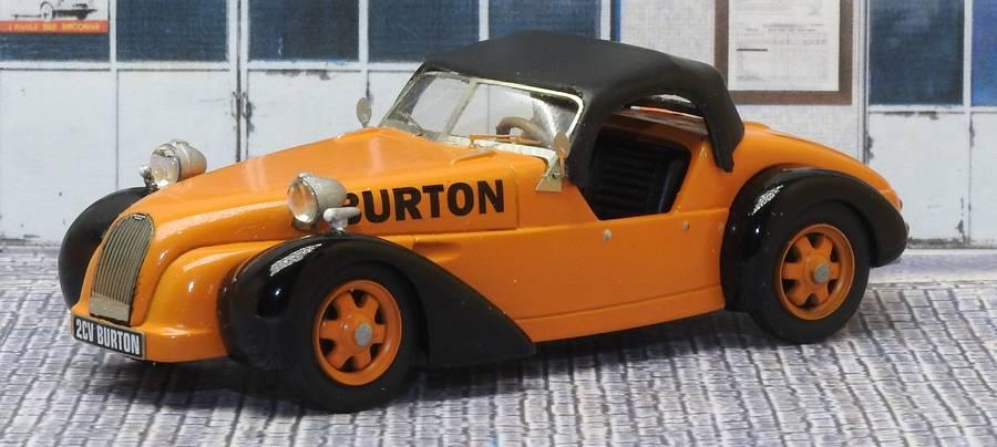 Vos commentaires à propos du Cabriolet BURTON Burton