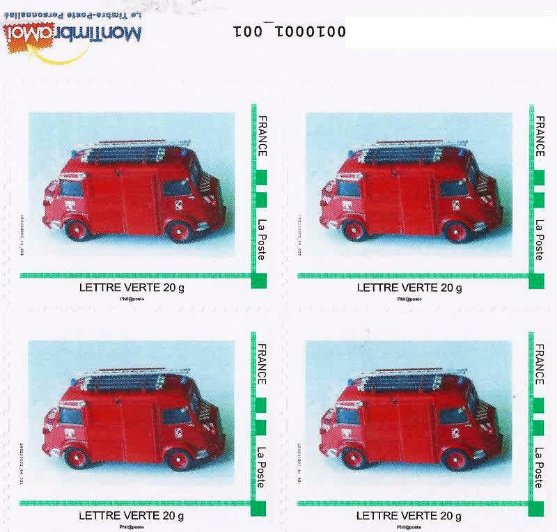 CITROEN et La POSTE  en timbres..... - Page 2 Bicephale