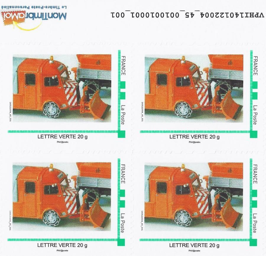 CITROEN et La POSTE  en timbres..... - Page 2 HIVER